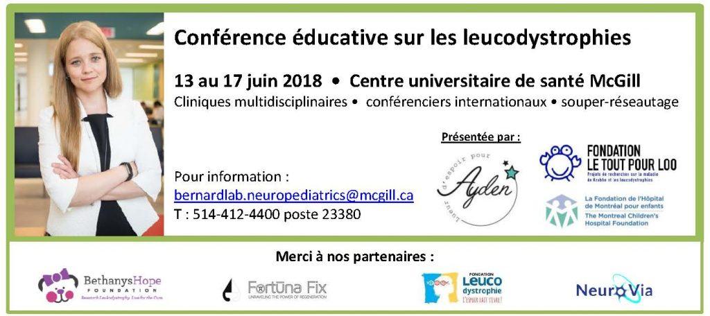 Conférence éducative sur les leucodystrophies